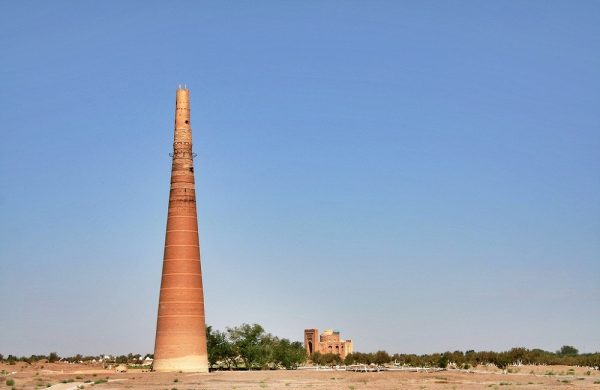 Minaret of Kutlug-Timur Kunya Urgench