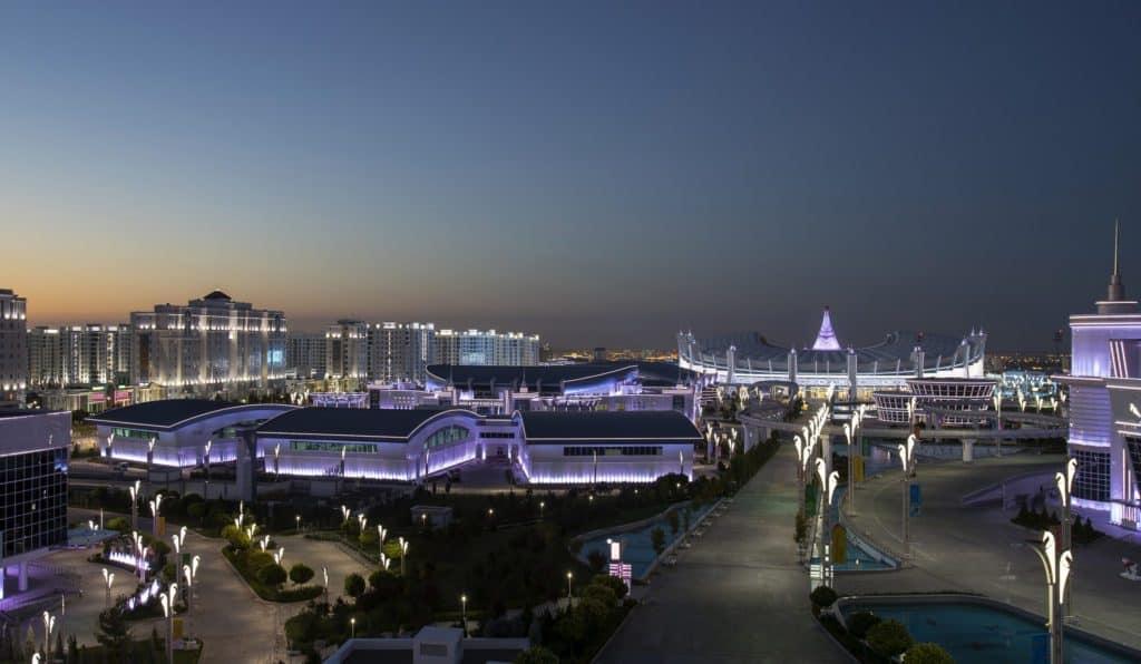 Ashgabat night