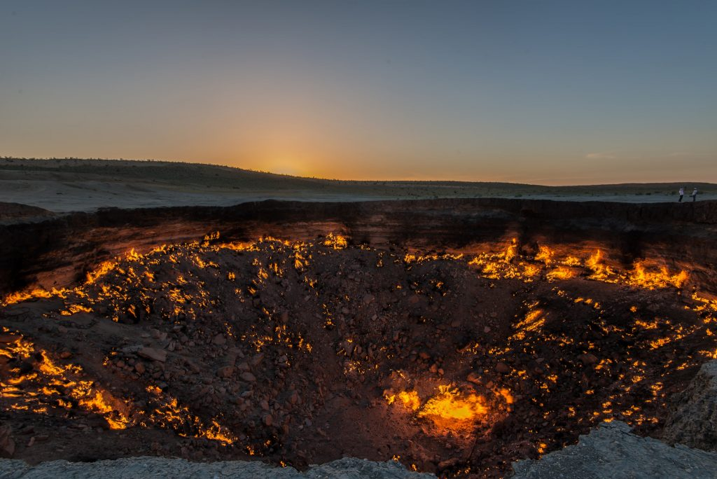 Darvaza Gas Crater - Door to Hell