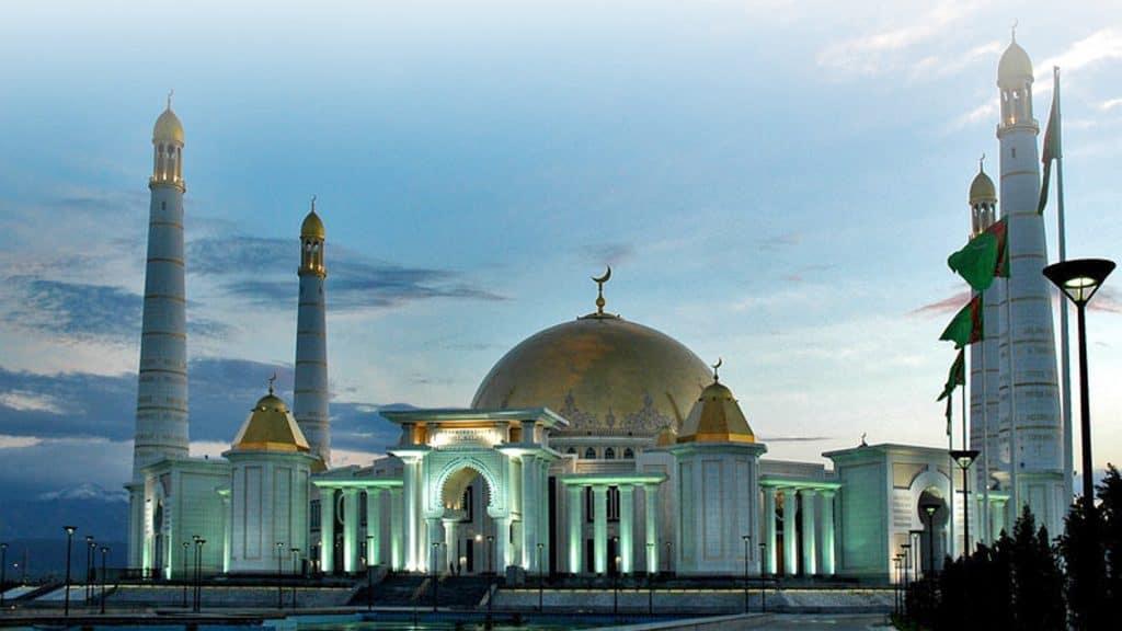 Turkmenbashi ruhu mosque gypjak