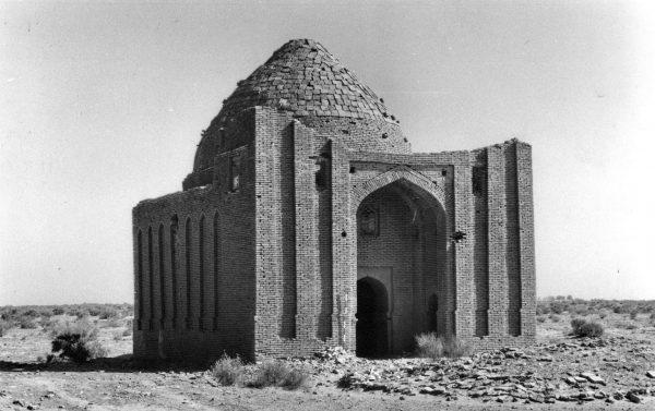 Geok Gumbaz, Mausoleum 1, from sw. 1997.